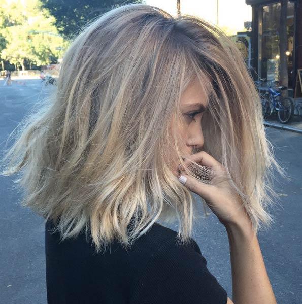 Серебристый блонд
