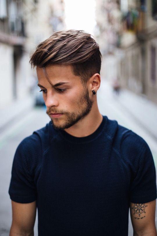 Короткие мужские стрижки 2018
