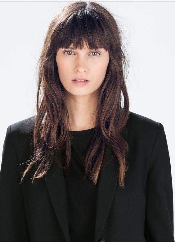 Модные челки на средние волосы 2018