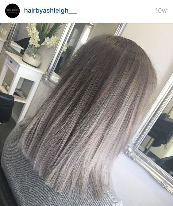 Холодный блонд