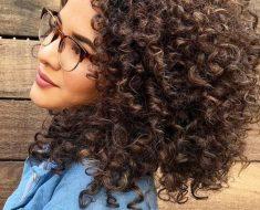 Объемные средние волосы