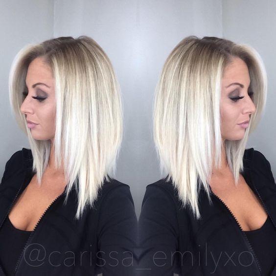 Укладка на средние волосы 2018