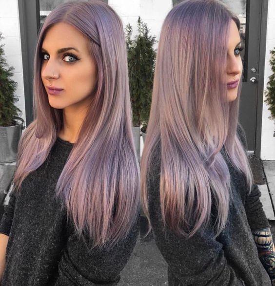 Какой цвет волос в моде в 2018