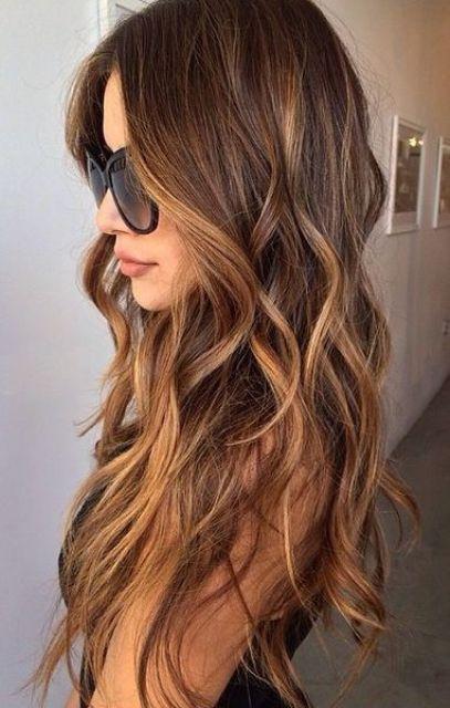 Темно-карамельный цвет волос (44)
