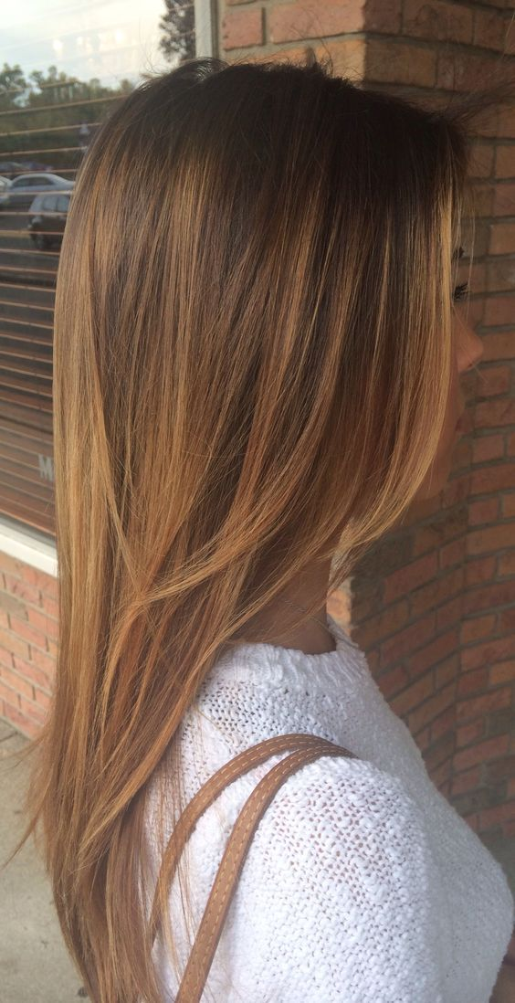 Темно-карамельный цвет волос (43)