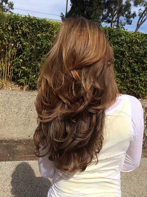 Темно-карамельный цвет волос (22)