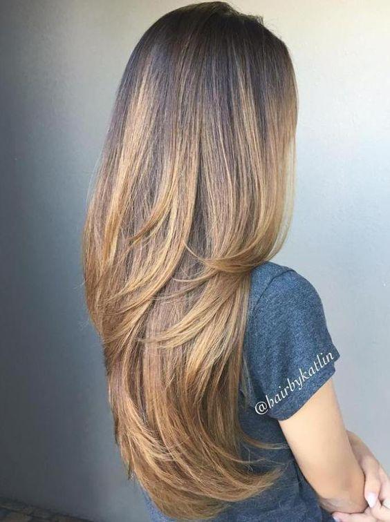 Цвет волос весна 2018 (72)