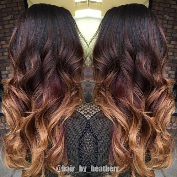 Темно-карамельный цвет волос (28)
