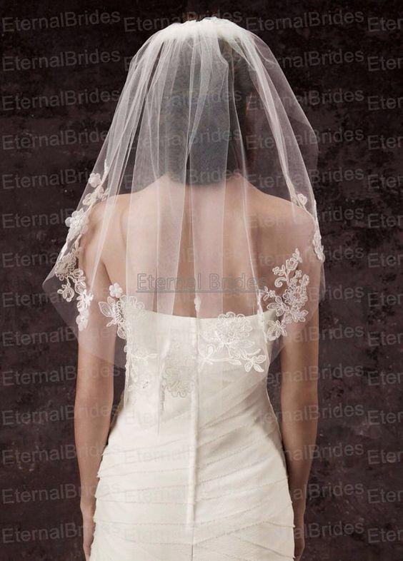 Свадебные прически на средние волосы 2018 (23)