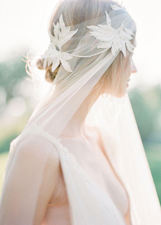 Свадебные прически на средние волосы 2018 (33)