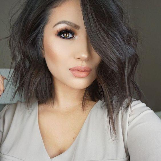 Причёски на короткие волосы на выпускной 2018 (51)