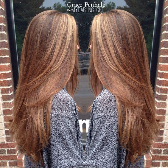 Темно-карамельный цвет волос (36)