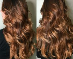 Темно-карамельный цвет волос (18)