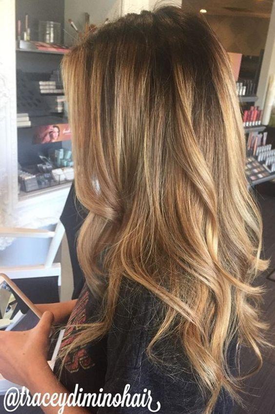 Темно-карамельный цвет волос (12)