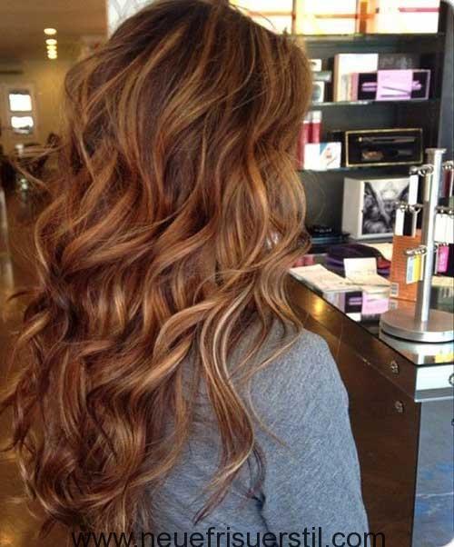 Темно-карамельный цвет волос (10)