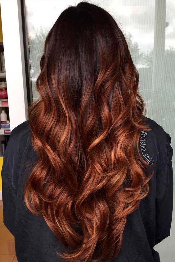 Темно-карамельный цвет волос (8)