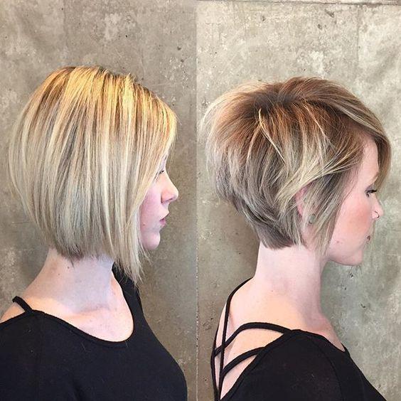Причёски на короткие волосы на выпускной 2018 (5)