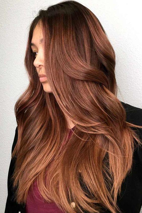 Темно-карамельный цвет волос (4)