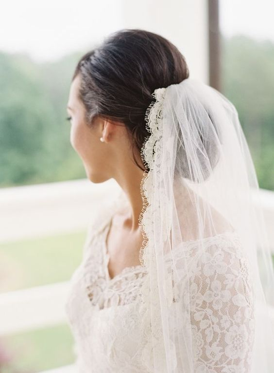 Свадебные прически на средние волосы 2018 (1)