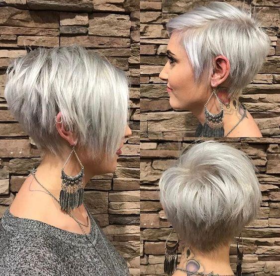 Причёски на короткие волосы на выпускной 2018 (2)