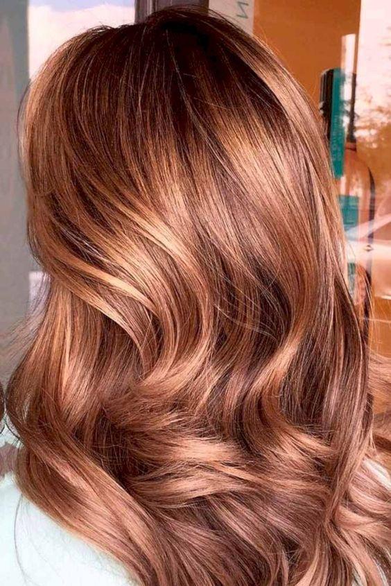Медово-карамельный цвет волос (38)