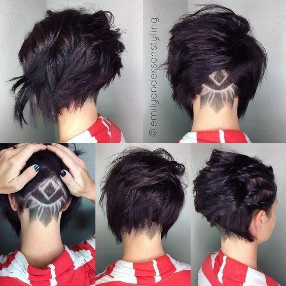 Натуральный темный цвет волос (38)