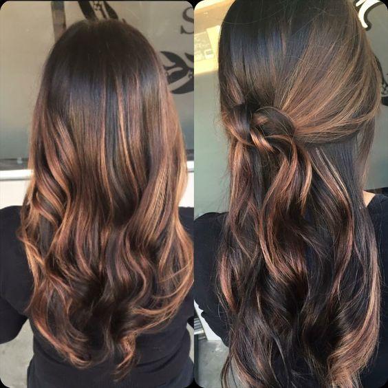 Натуральный темный цвет волос (36)