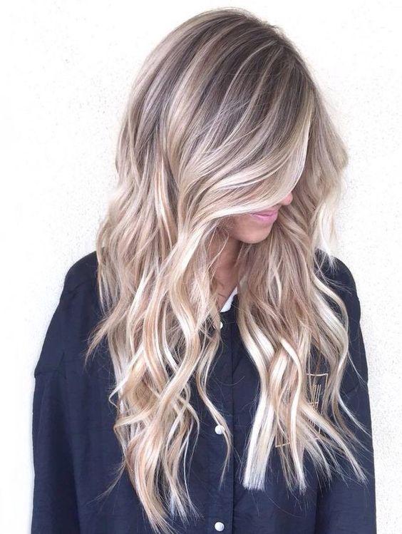 Натуральный блонд цвет волос (68)