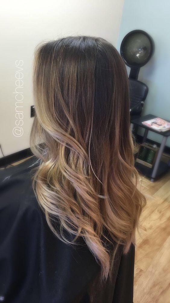 Стрижки на длинные волосы осень 2018-2019 (45)