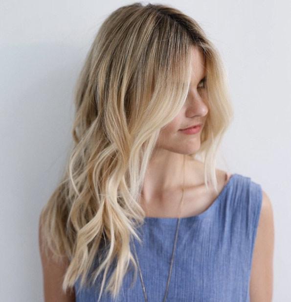 Натуральный блонд цвет волос (5)