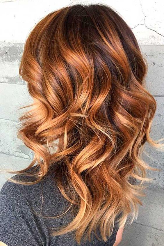 Медово-карамельный цвет волос (34)
