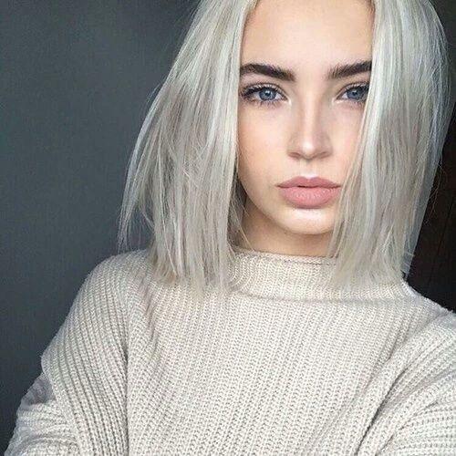 Натуральный блонд цвет волос (15)