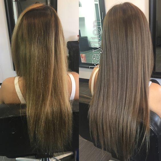 Натуральный русый цвет волос фото (15)