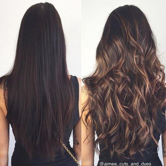 Натуральный темный цвет волос (34)