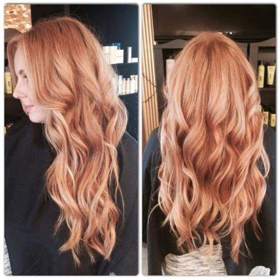 Медово-карамельный цвет волос (18)