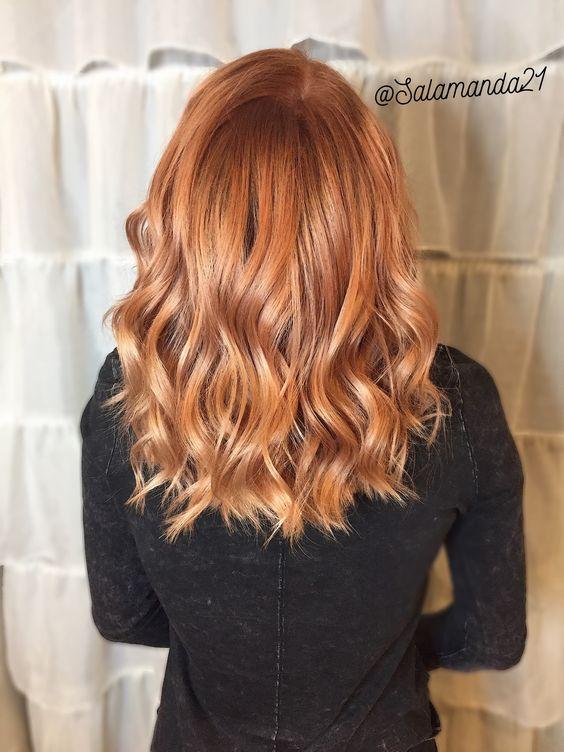 Медово-карамельный цвет волос (21)