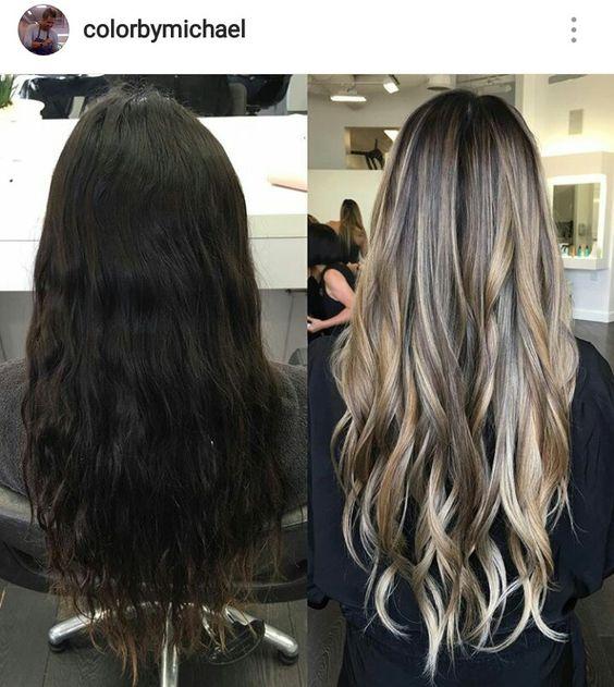 Натуральный темный цвет волос (30)