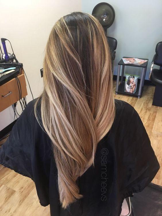 Стрижки на длинные волосы осень 2018-2019 (27)