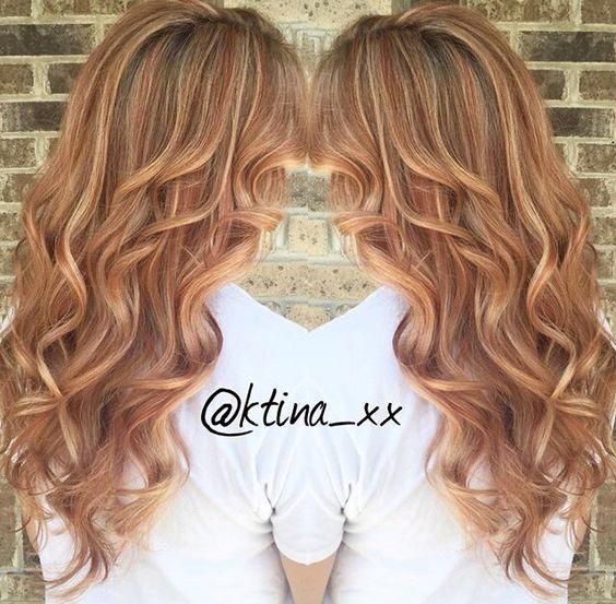 Натуральный светлый цвет волос (12)