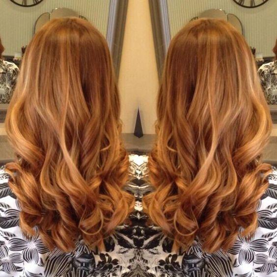 Медово-карамельный цвет волос (12)