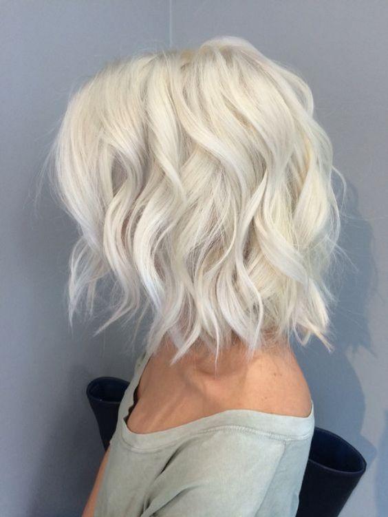Стрижки на средние волосы осень 2018-2019 (4)