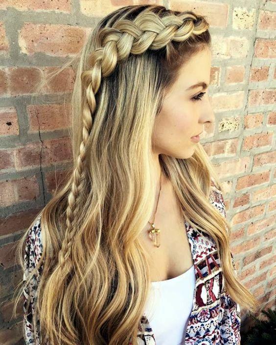 Карамельный блонд цвет волос (18)
