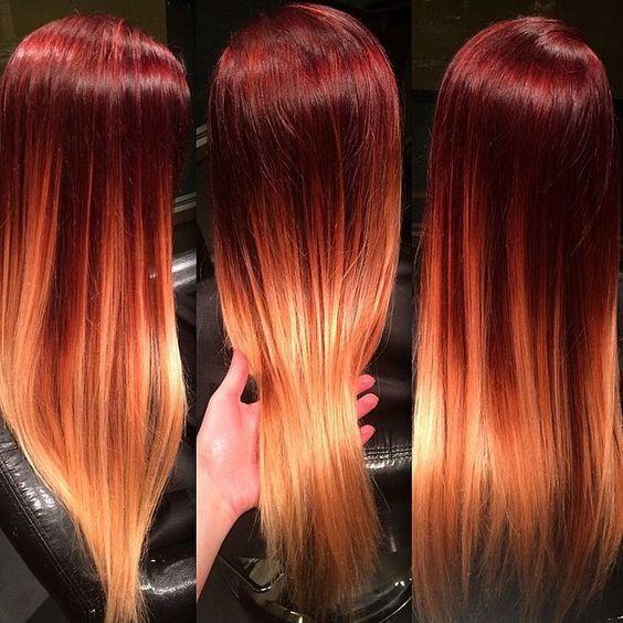 Медово-карамельный цвет волос (10)