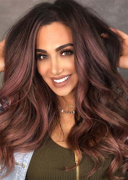 Натуральный темный цвет волос (18)