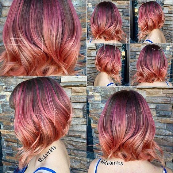 Цвет волос лето 2018 (19)