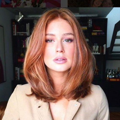 Медово-карамельный цвет волос (6)