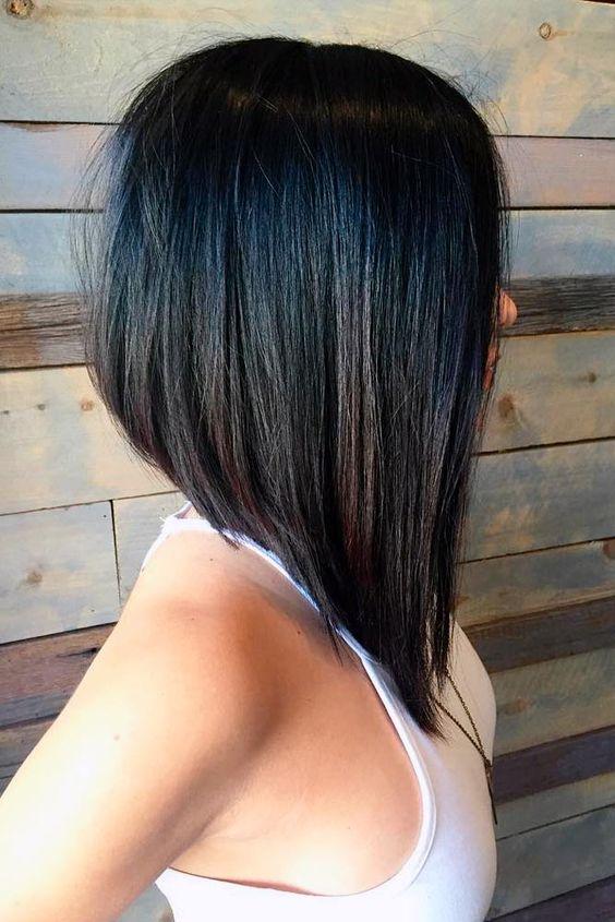 Стрижки на средние волосы осень 2018-2019 (36)