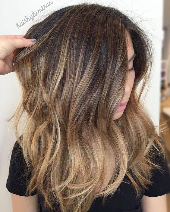 Стрижки на длинные волосы осень 2018-2019 (9)