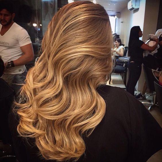 Медово-карамельный цвет волос (29)