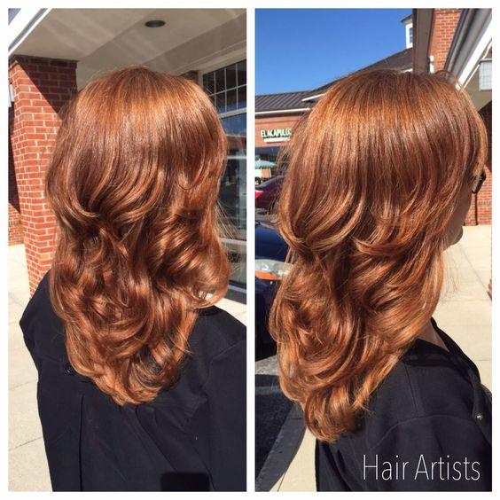 Медово-карамельный цвет волос (5)